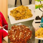 Shagufta Ijaz Made Biryani for her Family