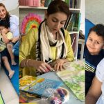 Latest Pictures of Fahad Mirza and Sarwat Gillani with their Kids
