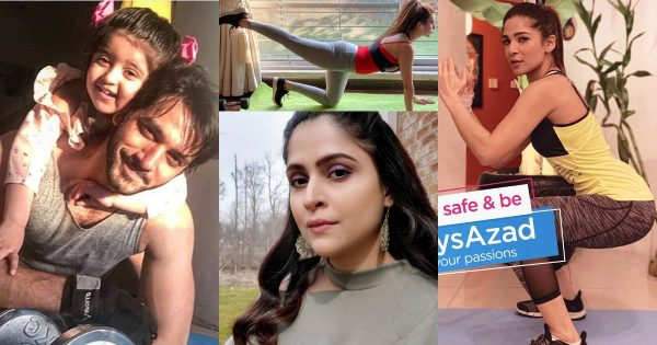 Pakistani Celebrities Latest Pictures from Lock Down Day 15