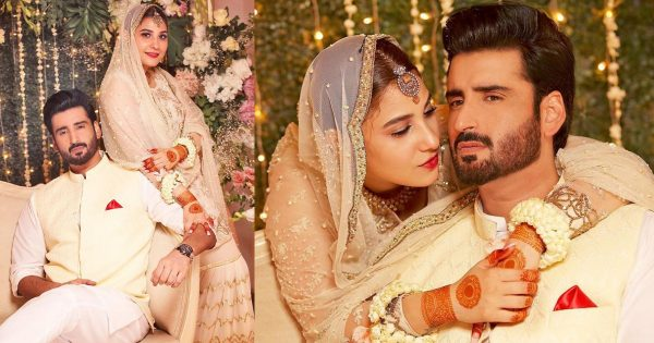 Hina Altaf and Aagha Ali Nikah Ceremony Pictures