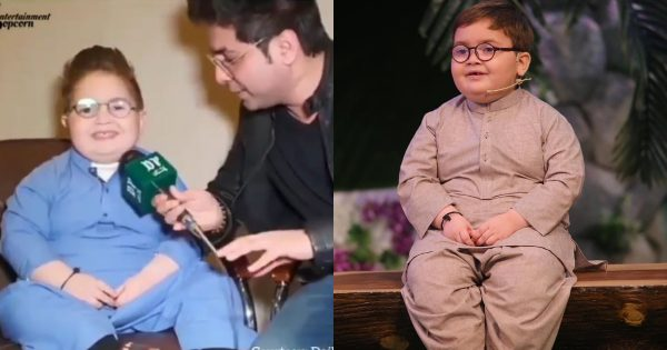 Beautiful Funny Interview of Cute Ahmed Shah