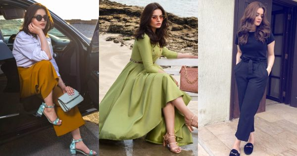 Beautiful Pictures of Minal Khan Wearing Western Dresses