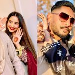 Beautiful Pictures of Actress Saniya Shamshad with Her Husband