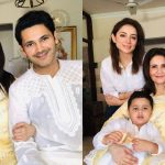 Beautiful Clicks of Sarwat Gillani and Fahad Mirza with Family