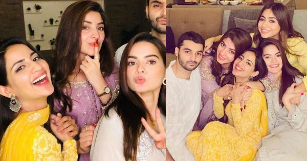 Beautiful Eid Pictures of Kinza Hashmi, Saboor Aly and Minal Khan With Friends
