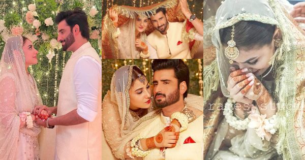 New Beautiful Pictures of Hina Altaf and Aagha Ali Nikah Ceremony