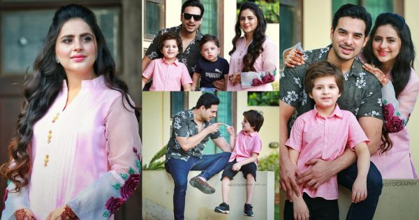Latest Pictures of Lovely Couple Fatima Effendi and Kanwar Arsalan wih Kids