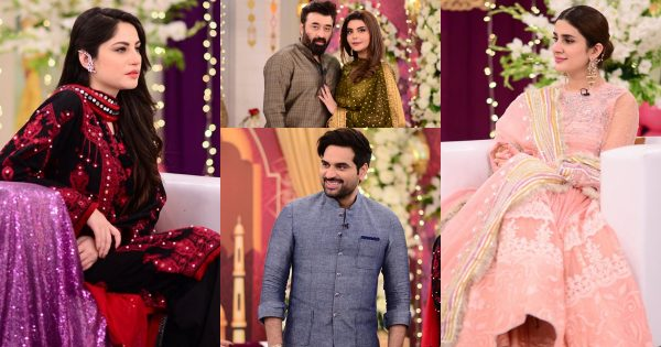 Beautiful Clicks of Celebrities from Good Morning Pakistan Eid Special Day 1