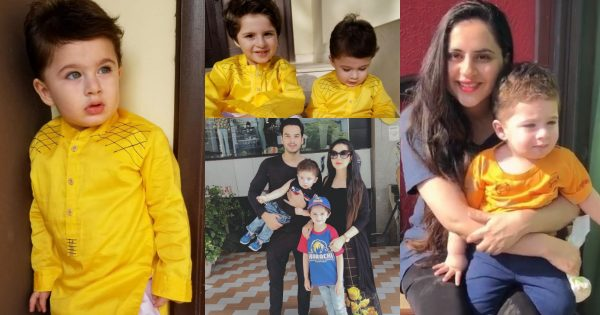 Latest Beautiful Pictures of Fatima Effendi with her Cute Sons Mahbir and Almir