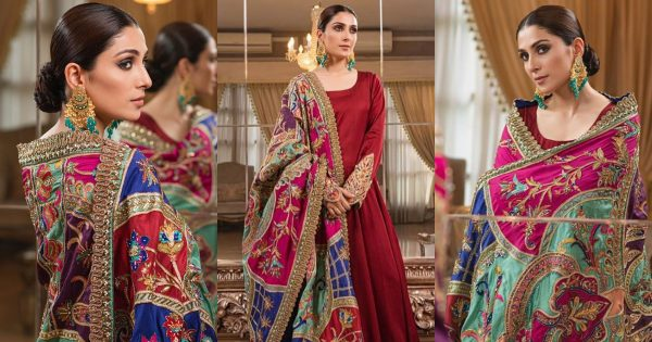 Ayeza Khan Latest Photo Shoot in this Colorful Outfit