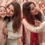 Sami Khan and his wife Shanzay celebrating Birthday of their daughter Mahnoor