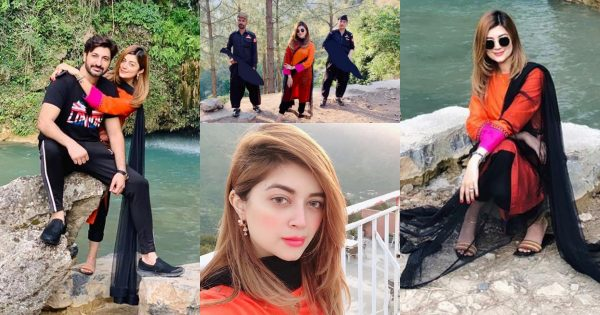 Latest Clicks of Syed Jibran with his Wife from KPK