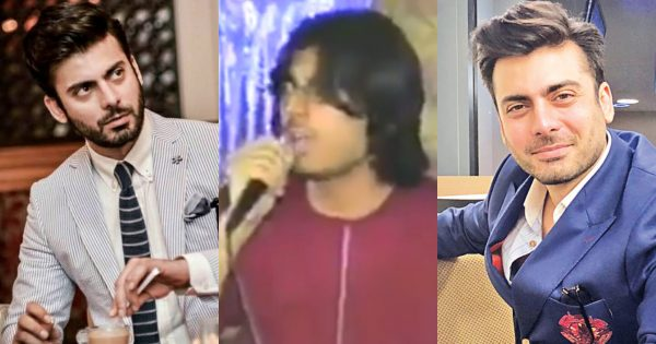 Fawad Khan Old Video from his Concert going Viral