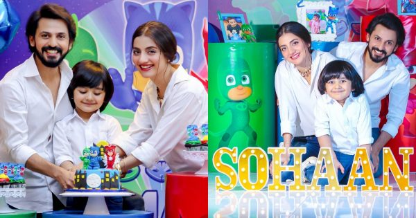 4th Birthday Pictures of Bilal Qureshi and Uroosa Son Sohaan