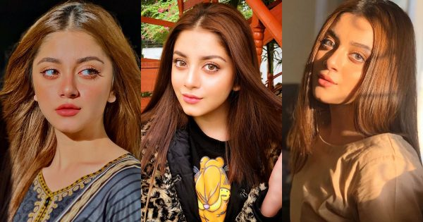 Beautiful Pictures of Alizeh Shah Eyes