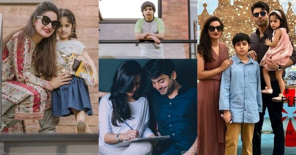 Latest Beautiful Pictures of Fawad Khan with his Wife and Kids