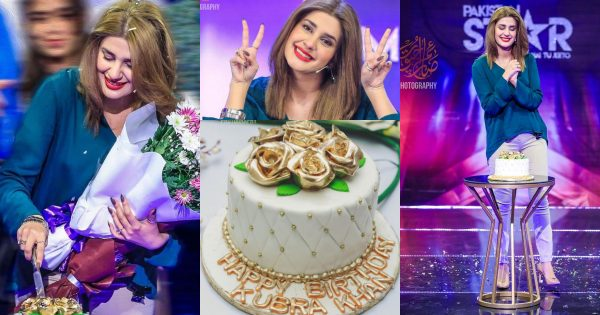 Beautiful Actress Kubra Khan Celebrating her 27th Birthday – Pictures