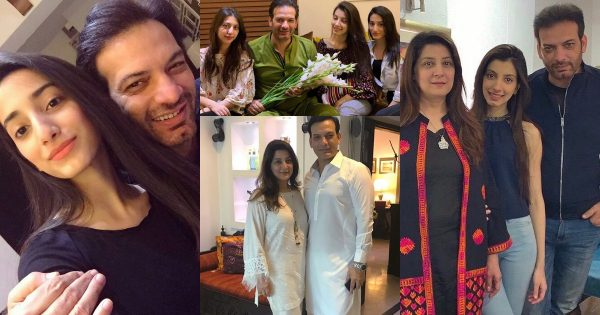 Latest Pictures of Saleem Sheikh with his Beautiful Daughters
