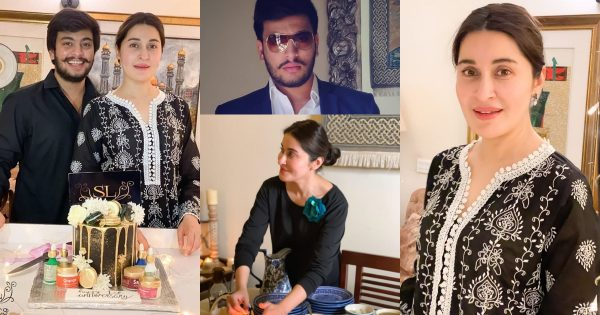 Latest Pictures of Shaista Lodhi with her Son Shafay