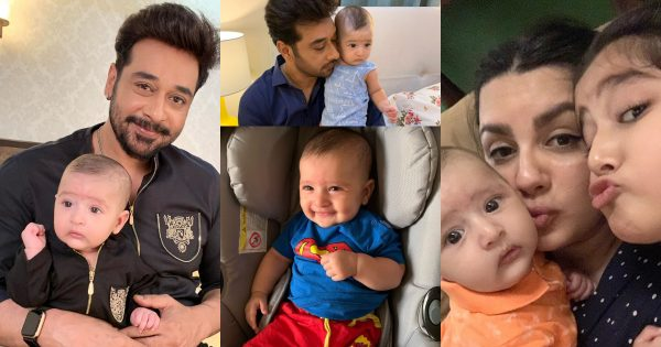 Latest Clicks of Faysal Qureshi with his Family