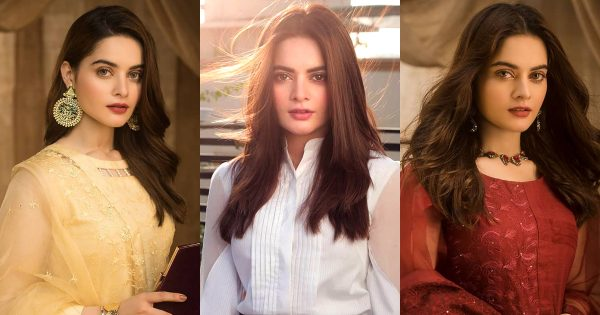 Latest Beautiful Pictures of Minal Khan in her Own Brand Aiman Minal Closet