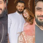 Beautiful Collection Pictures of Hamza Ali Abbasi and Naimal Khawar