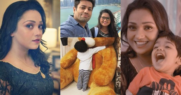 Latest Pictures of Uroosa Siddique with her Husband and Son