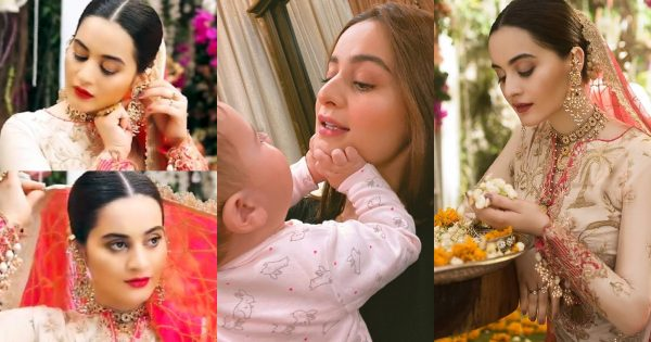 Aiman Khan is Back on Screen with Asim Jofa Collection