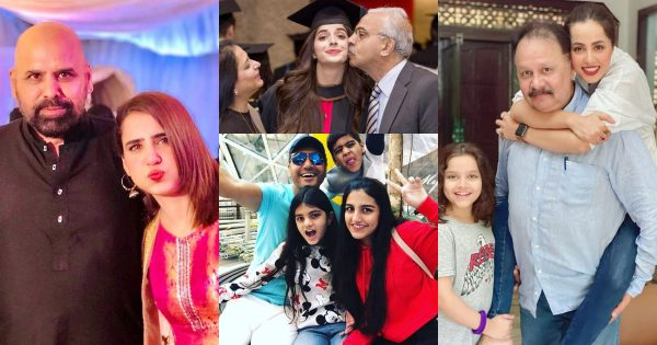 Pakistani Celebrities Shared Beautiful Pictures with their Father on Father's Day
