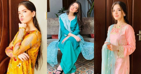 Latest Pictures of Arisha Razi Khan from Instagram