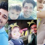 Latest Pictures of Actor Babar Khan with Wife Bisma and Kids