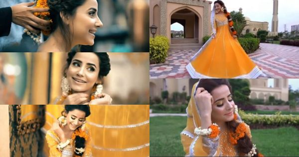 Saniya Shamshad Shares Beautiful Video & Pictures From Her Mehndi