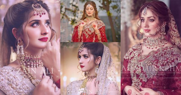Bridal Photo Shoot Tiktok Star Sisters Jannat Mirza and Alishba Anjum