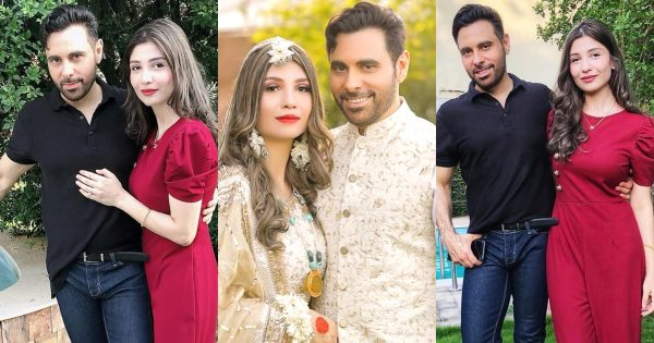 Singer Haroon Rasheed Latest Pictures with his Wife