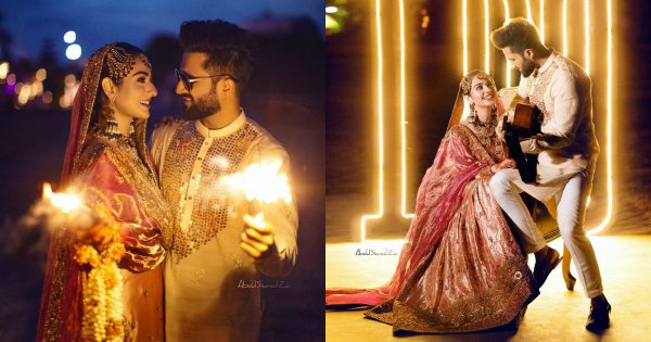 New Wedding Pictures and Video of Sarah Khan and Falak Shabir