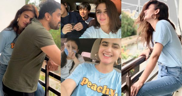 Beautiful Pictures of Hira Mani with her Family