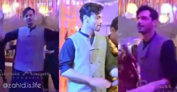 Actor Zahid Ahmed Showing His Dance Moves in Recent Wedding