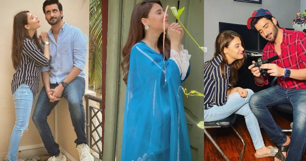 Hina Altaf and Agha Ali Latest Pictures and Video Log