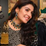 Ayeza Khan is Looking Gorgeous in this Black Outfit for Shoot