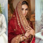 Beautiful Bridal Dresses Photo Shoot of Minal Khan
