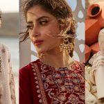 Latest Beautiful Photo Shoot of Sajal Ali for Qalamkar
