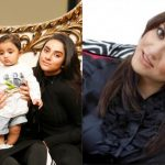 Beautiful Host Nadia Khan Latest Family Pictures