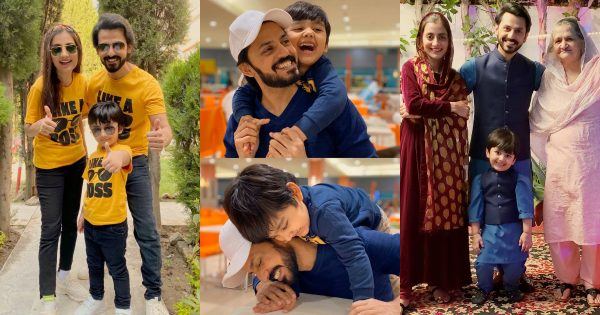 Beautiful Pictures of Actor Bilal Qureshi with Family