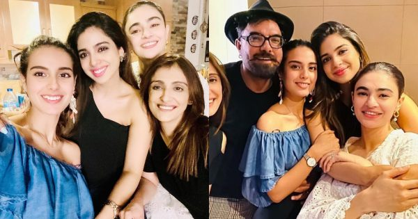 Beautiful Clicks of Iqra Aziz and Yasir Hussain get together with Friends