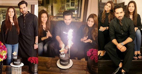 Beautiful Clicks from Humayun Saeed Birthday with his Family