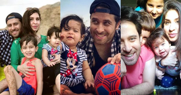 New Family Pictures of Actor Haroon Shahid