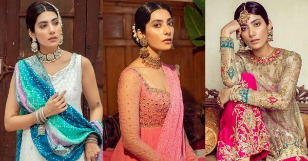 Actress Eman Suleman Latest Shoot in Beautiful Outfits