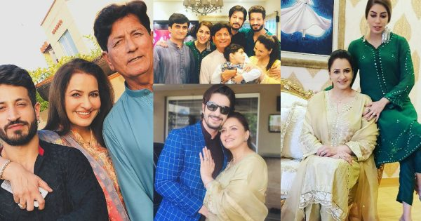 Beautiful Eid Pictures of Saba Faisal with her Family