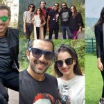 Tennis Star Aisam ul Haq Pictures with Wife and Family From Nathia Gali