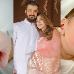 First Picture of Hamza Ali Abbasi and Naimal Khawar Son